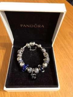 (Final Clearance) Pandora Bracelet with charms