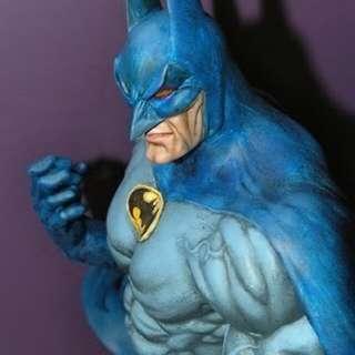 已上色石膏蝙蝠俠擺設