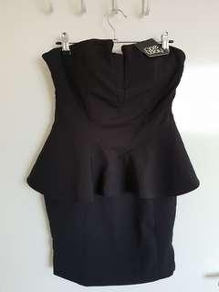 One Way black cocktail dress