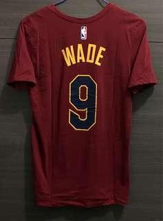 Nike Dwyane Wade 韋迪 T-Shirt Number Tee adidas NBA