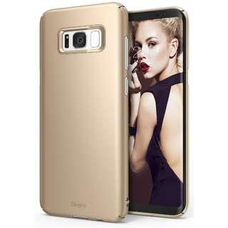 🚚 ⭐Ringke SALE⭐ Ringke Galaxy S8 PLUS Case [Slim] [Gold]⭐