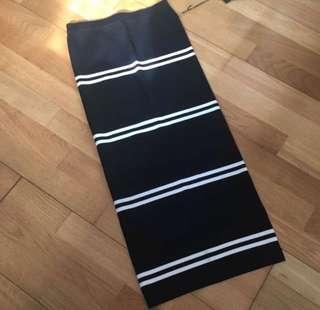 Dion Lee Stripe Rib Skirt