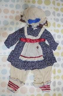 For Rent - Rag Doll Costume