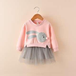 Toddler Rabbit Dress