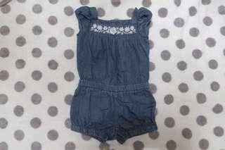 Old NaVy Denim Romper