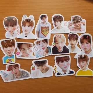 wanna one park ji hoon stickers