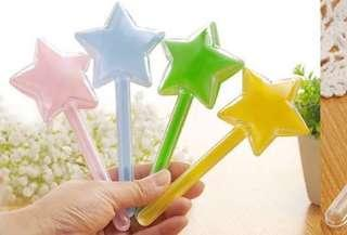 Colourful star or heart candy holder - IN STOCK