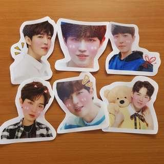 wanna one kim jae hwan stickers