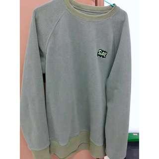 SPAO Army Green Sweatshirt