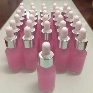 Glass skin care serum