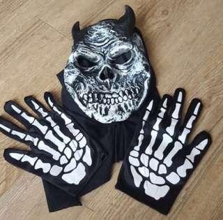 Grim Reaper Skeleton Halloween Costume