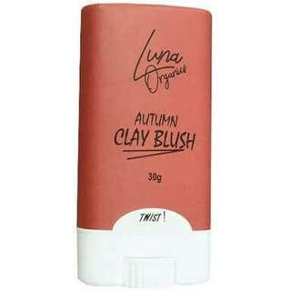 LUNA ORGANICS AUTUMN CLAY BLUSH