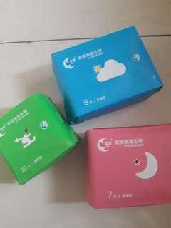 愛康衛生棉優惠組合(45+1包)