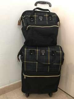 Anello like back pack Trolley 4 wheels cabin luggage
