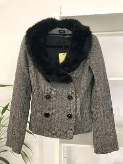 BRAND NEW Tweed Double Breasted Jacket
