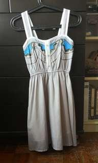 Summer embroidery dress