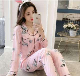 Rabbit stripes Pajamas sleepwear