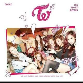 [MY GO]Twice - The Story Begins (CD+DVD) - Taiwan Edition