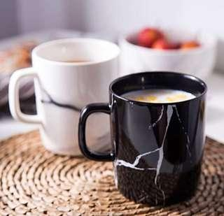 Brand New Scandinavian Ceramic Black & White Mugs