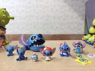 現貨 迪士尼 星際寶貝 史迪奇 醜丫頭 公仔 模型 景品 吊飾 扭蛋 轉蛋 食玩 盒玩 玩具 收藏 莉蘿 天使 整人玩具