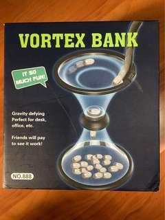 🚚 漩渦存錢桶 創意存錢筒 重力旋風旋轉硬幣存錢筒 生日禮物
