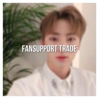 wanna one | fansupport trade