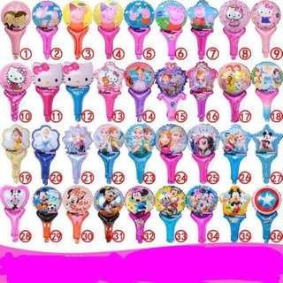 Children's Day Special Kids handheld balloons - party gifts / goodie bag gifts / birthday gifts / children's day gift