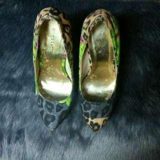 Primadonna Leopard High Heels