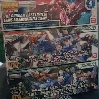 Gundam 00 HG 1/144 MS Clear Set