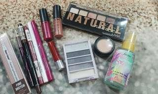 Assorted make up take all for P200