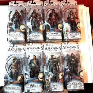 Mcfarlane Assassin's Creed Series 1, 2 & Other Exclusives
