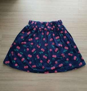 Cherry Skater Skirt