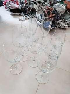 Assorted glasses for sale!