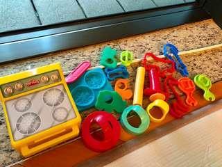 Play-Doh 泥膠模 good condition