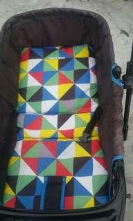 Happy dino stroller