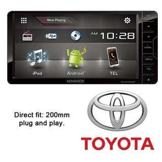 Toyota Nissan Kenwood 616-BT Dvd player