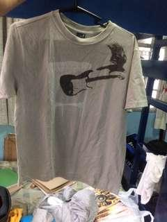 Grey Guitar Shirt