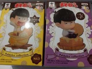 阿松 小松先生 十四松 一松 模型 盒蛋 公仔 動畫