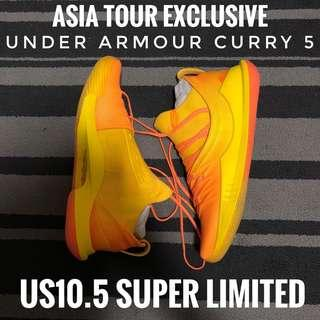 US10.5 Asia Tour Exclusive Curry 5