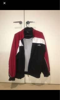 oversized Spalding spray jacket