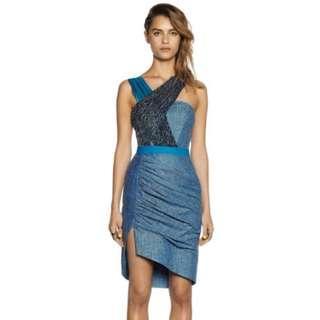 Three Floor Luminum Dress Size 12