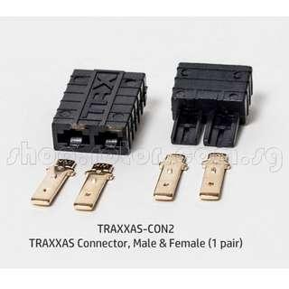 TRAXXAS Connector, Male & Female (1 pair). Code: TRAXXAS-CON2