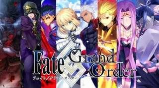 Fate grand order Japan 1000 quartz + 30 summon tickets +80 gold apples