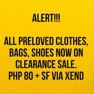 80pesos for ALL PRELOVED items