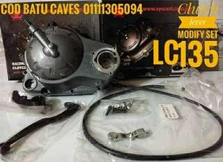 Clutch lever modify set lc135