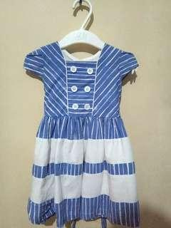 Semi Denim Style Baby Dress!