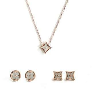 Louis vuitton Necklace,Earring,Set