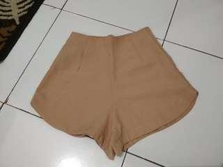 Highwaist hotpants brown #oktosale