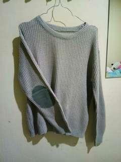 Sweater abu abu jaket