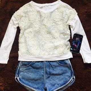 PullOver Sequined Top